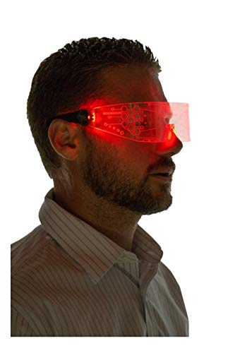 Light Up Outfits - Neon Nightlife LED Light Up Glasses,