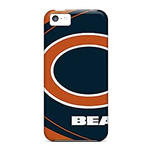 JonBradica Iphone 5c Shockproof Cell-phone Hard Cover Support Personal Customs Colorful Chicago Bears Image [qzQ12293Hcce]