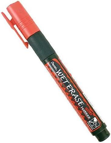 Red Jumbo Pentel Wet Erase Chalk Marker SMW56-B