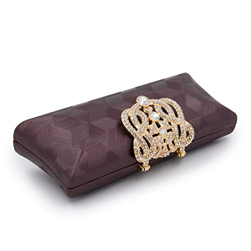Clutch Bridal Clutch Purses Crystal Minaudiere Lady Bag Evening Wedding Diamond Diamond Purse White Party FxBBXn0qU