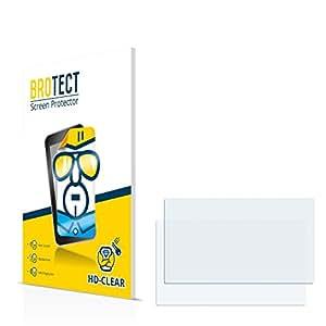 2x BROTECT HD-Clear Protector Pantalla Medion GoPal P4425 Película Protectora – Transparente, Anti-Huellas
