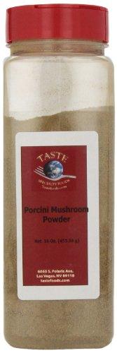TASTE Specialty Foods Porcini Mushroom Powder , 16 Ounce Jar