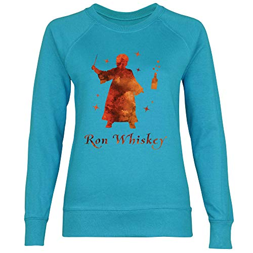 Whiskey Assistant Femme Sweat Royal Blue Shirt Azure cvHzpnfW
