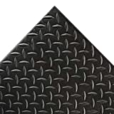 Notrax Diamond Sof-Tred Anti-Fatigue And Safety Mat - 3X6' - Black - Black - 3x6'
