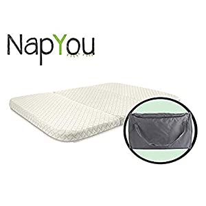 NapYou Amazon Exclusive Pack n Play Mattress, Convenient...