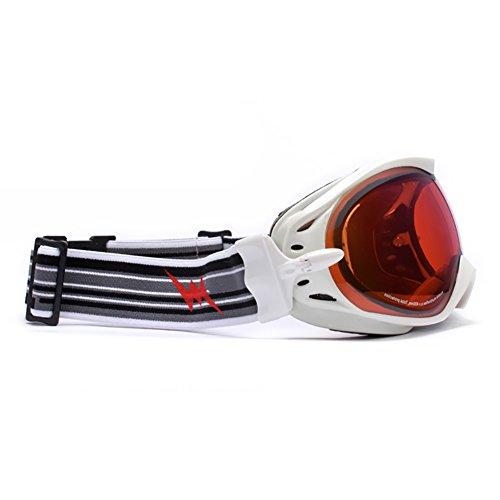 SE7VEN Lunettes De Ski Extérieur,Coupe-vent Des Lunettes De Protection  Bicyclette Motoneige Adulte ... b2c9a63a2594