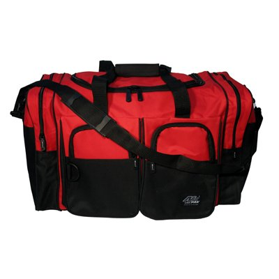 NPS FS-861 Red Duffle Bag Square 22'' x 13'' x 12''