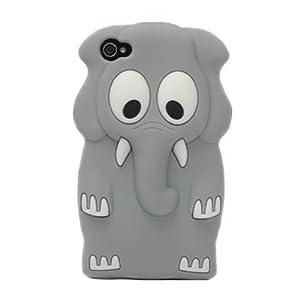 Amazon.com: 3D Cartoon Cute Elephant Silicone Soft Case