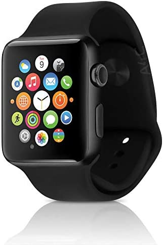 Apple Watch Series 2 Smartwatch 38mm Silver Aluminum Case White Sport Band (Renewed)