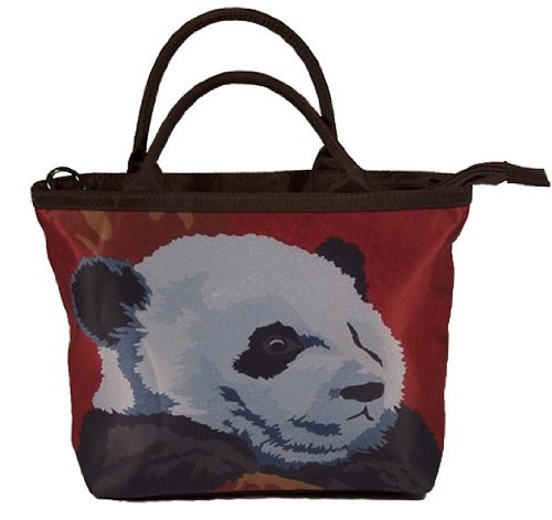Panda Small Handbag and Coin Purse - Matching Gift Set - Great for Young Girls by Salvador Kitti (Image #1)