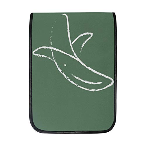12 Inch Ipad IPad Pro Laptop Sleeve Canvas Notebook Tablet Pouch Cover for Homeschool, Travel, Etc Peeled-Banana Picture