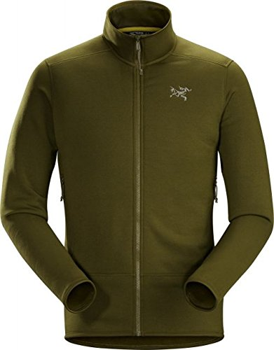 Arc'teryx Kyanite Fleece Jacket - Men's Dark Moss, S by Arc'teryx