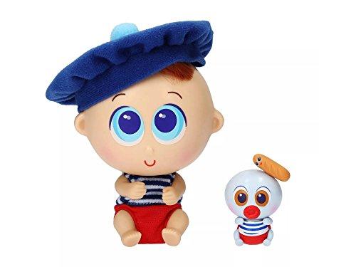 Ksimerito Distroller PATÉ Nerlie Neonate French baby doll with Mini Ksimerito - Edition in Spanish ()
