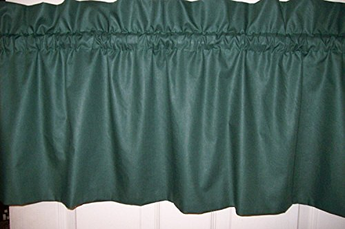HUNTER GREEN VALANCE 86