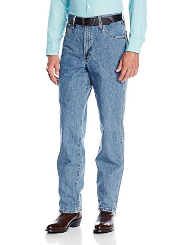 Denim Label Jeans (Cinch Men's Green Label Original Fit Jean,  Medium Stonewash, 38W x 34L)