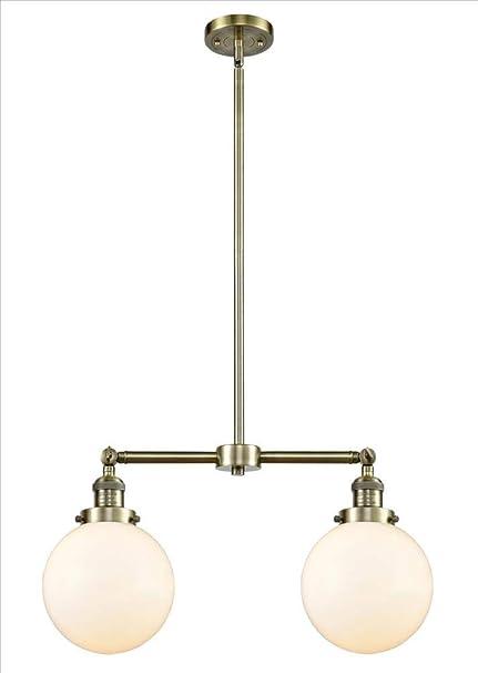 Amazon.com: Innovations 209-AC-G204-8-LED - Lámpara de araña ...