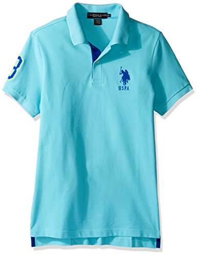 Solid Pique Knit Polo - 3