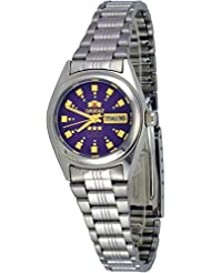 Orient #BNQ1X003V Womens Tri Star Purple Dial Automatic Watch