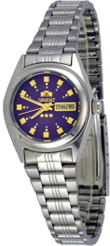Orient #BNQ1X003V Women's Tri Star Purple Dial Automatic Watch