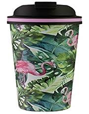 Avanti Go Cup Double Wall Travel Cup, Flamingo, 13469
