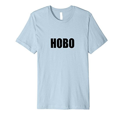 [Mens Hobo T Shirt Halloween Costume Funny Retro Distressed XL Baby Blue] (Halloween Hobo Costume)