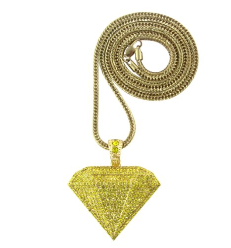 Iced Out Diamond Supply Co. Pendant Piece w/ 30