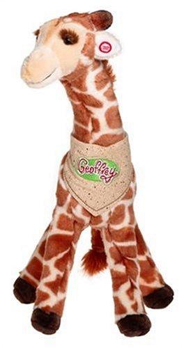 Amazon Com Tru Hk Ltd Animal Alley 18 Inch Talking Geoffrey Toys