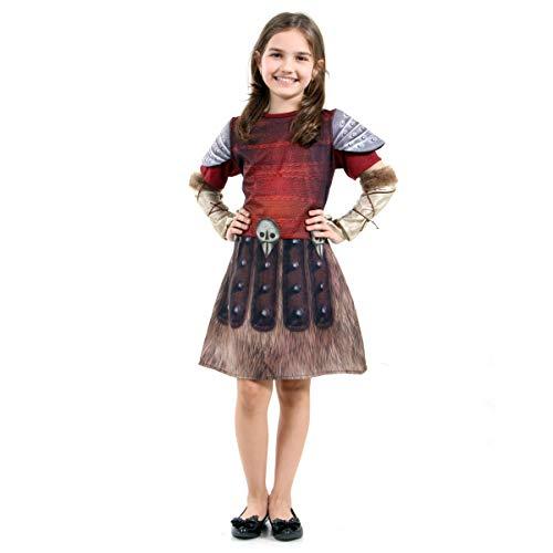 Fantasia Como Treinar Seu Dragão - Astrid Infantil 38731-P Sulamericana Fantasias P 3/4 Anos
