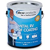 Amazon Com Dicor Rpcrc1 White Epdm Rubber Roof Coating