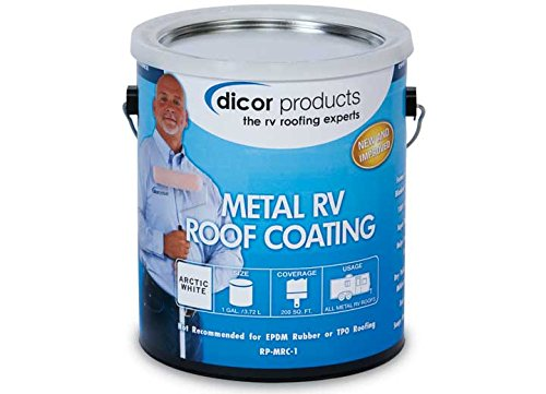 Dicor RPMRC1 Elastomeric Metal RV Roof Coating by Dicor