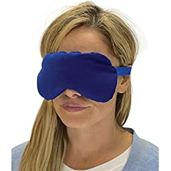 Sensacare Hot & Cold Natural Therapy Lavender Eye Mask, Blue, 0.4 Pound