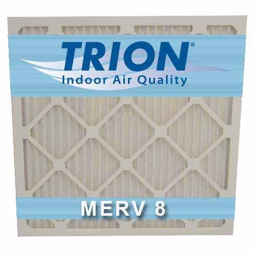 "Trion T08-18201 Air Bear MERV 8 Pleated HVAC Filter, 18"" x 20"" x 1"", White (Pack of 6)"