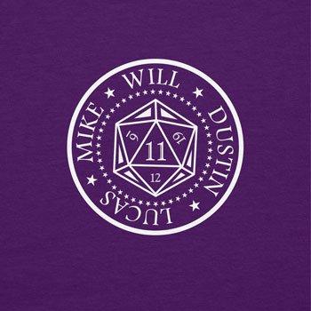 NERDO Strange Cube - Damen T-Shirt, Größe S, violett