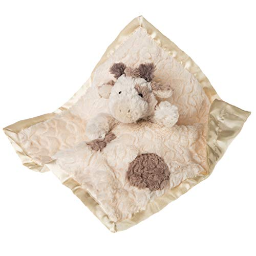 Mary Meyer Super Soft Stuffed Animal Security Blanket, Putty Giraffe, 13 x 13-Inches