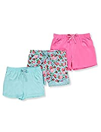 Pink Dot Girls' 3-Pack Shorts