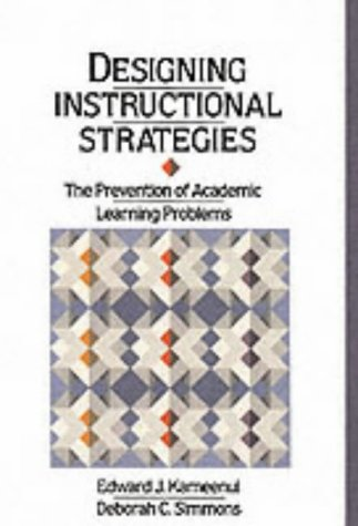 Designing Instructional Strategies: The Prevention of Academic Learning Problem
