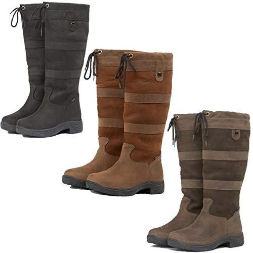 Dublin Women's Wide River Equestrian Boot – Brown – 9.5