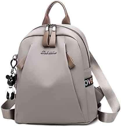 0b7ac3e7352f New Nylon Women Backpack Female Fashion Travel Waterproof Bag Softback School  Backpacks Teenager For Girls