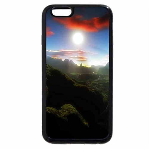 iPhone 6S / iPhone 6 Case (Black) Scottish Wetland