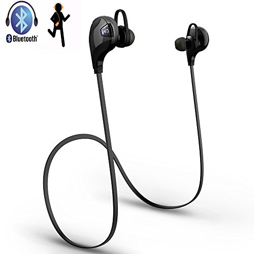 Amazon Lightning Deal 53% claimed: Sport Bluetooth Headphones, Pictek Wireless Stereo Sport Headsets Running Exercise Sweatproof Earphones Hands-free Ergonomic and Strong Battary with Built-in Mic for Apple iPhone, iPad Air, Samsung Galaxy, Note, HTC,...