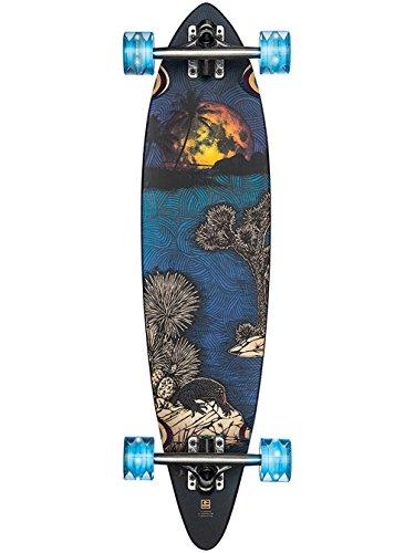 GLOBE HG Globe Pintail Longboard Complete Skateboard, Moonlighting Lit, Size 34
