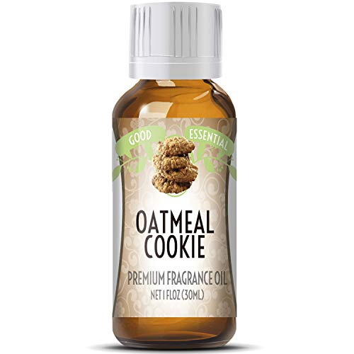 Oatmeal Cookie Scented Oil by Good Essential (Huge 1oz Bottle - Premium Grade Fragrance Oil) - Perfect for Aromatherapy, Soaps, Candles, Slime, Lotions, and More!