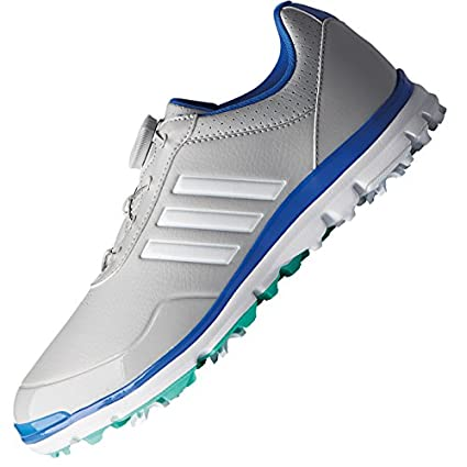 official photos f479d 59beb adidas Golf 2018 Ladies Adistar Lite BOA WoLadies Waterproof Golf Shoes -  Spiked GreyWhite