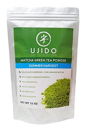 Ujido Japanese Matcha Green Tea, Summer Harvest, 12 Ounce