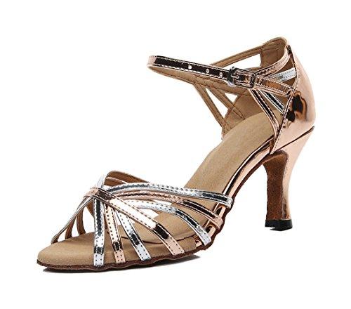 e 7 35 Brown Heel Donna Joymod Moderno 5cm MGM Jazz Marrone 4xfqfE