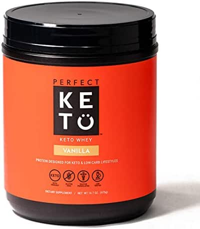 Protein & Meal Replacement: Perfect Keto Whey
