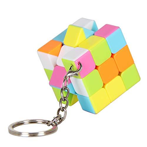 Llaveros de tercer orden de llavero Personalidad de Rubik ...