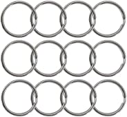 WICKED Scuba 316 and 304 Stainless Steel Split Ring - 12 Pack