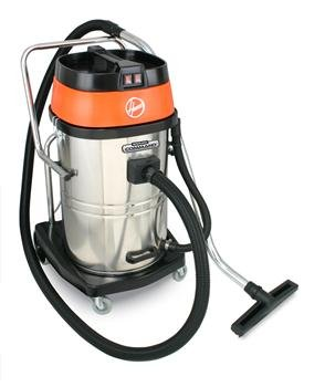 Vacuum 15 Gallon Tank (Hoover CH84005 Ground Command 20-Gallon Industrial Wet/Dry Vacuum with Stainless Steel Tank)