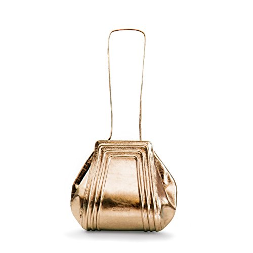 Gretchen, Borsa a spalla donna Multicolore (Bronze Metalic)